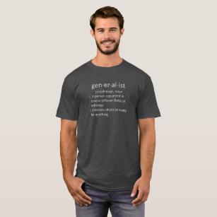 Generalist Defined, Physician, Men's T-Shirt