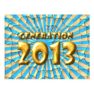 Generation 2013 postcard