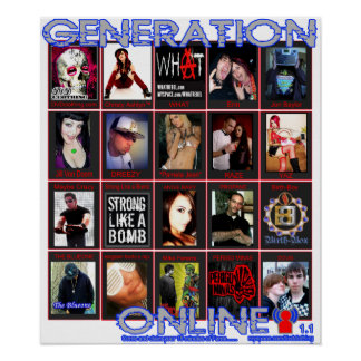 GENERATION ONLINE 1.1 at myspace.com/dvdclothing Poster