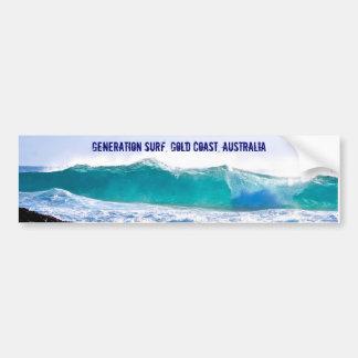 Generation Surf decal Bumper Sticker