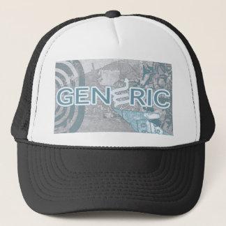 GENERIC BRAND LOGO TRUCKER HAT