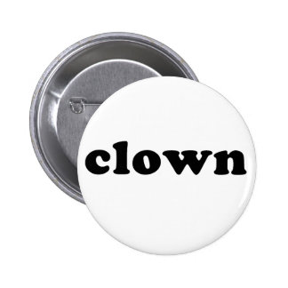 Generic CLOWN T shirt for Halloween 2 Inch Round Button