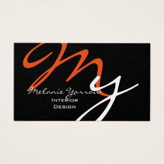 Generic Interior Design Business Card