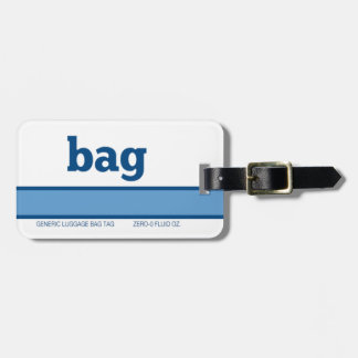 Generic Luggage Bag Luggage Tag