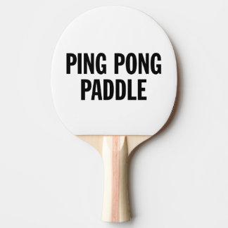 Generic Ping Pong Paddle