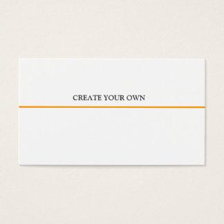 Générique de base de conception professionnelle en cartes de visite