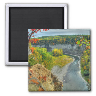 Genesee River Autumn Magnet