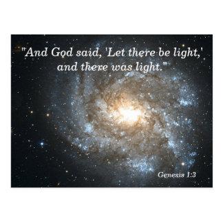 Genesis 1 3 Scripture Memory Card