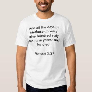 Genesis 5:27 Shirt