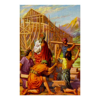 Genesis 6 Noah Builds the Ark poster