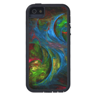 Genesis Blue Abstract Art iPhone 5 Case