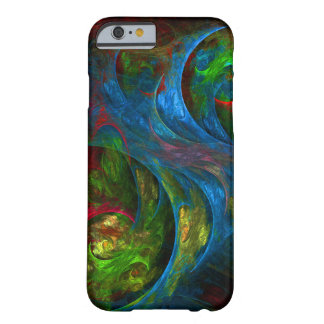 Genesis Blue Abstract Art iPhone 6 Case