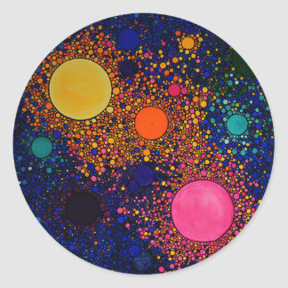 Genesis Classic Round Sticker