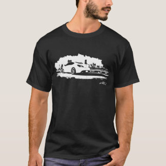 Genesis Coupe black and white graphics T-Shirt
