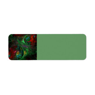 Genesis Green Abstract Art