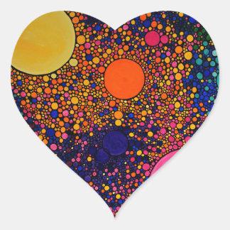 Genesis Heart Sticker