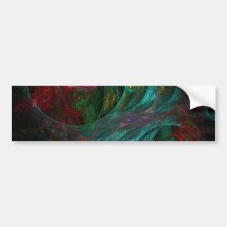 Genesis Nova Abstract Art Bumper Sticker