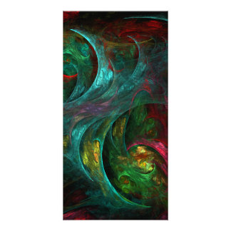 Genesis Nova Abstract Art Photo Card