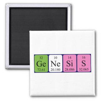 Genesis periodic table name magnet