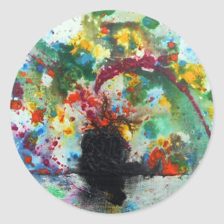 Genesis Round Sticker
