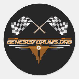 Genesisforums.org Sticker