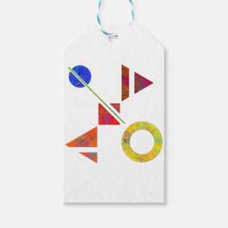 Genessium - birth of maths pack of gift tags