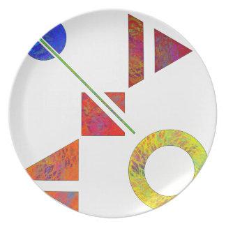 Genessium - birth of maths plates