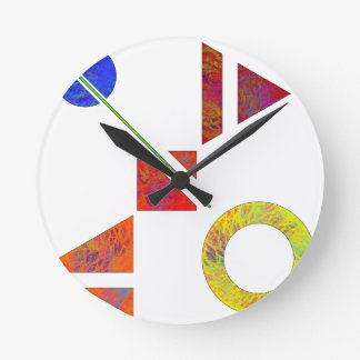 Genessium - birth of maths round clock