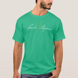 Genetic Sequence -  Logo Mint T-Shirt