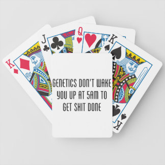 Genetics Bicycle Playing Cards