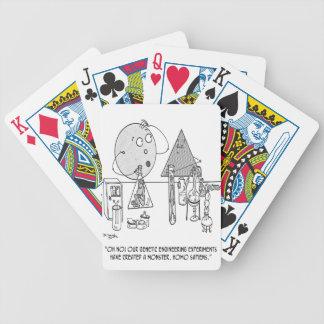 Genetics Cartoon 0313 Bicycle Playing Cards