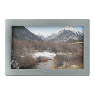 Geneva Creek In The Fall Belt Buckle