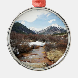 Geneva Creek In The Fall Metal Ornament