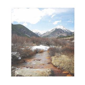 Geneva Creek In The Fall Notepad