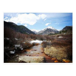 Geneva Creek In The Fall Postcard
