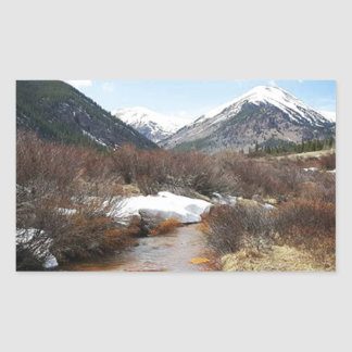 Geneva Creek In The Fall Sticker