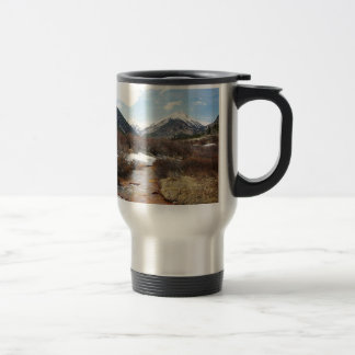 Geneva Creek In The Fall Travel Mug