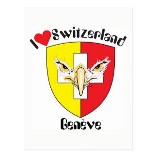 Geneva - Genève Switzerland postcard