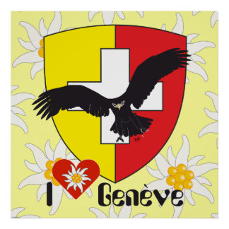 Geneva/Genève Switzerland Suisse Svizzera poster