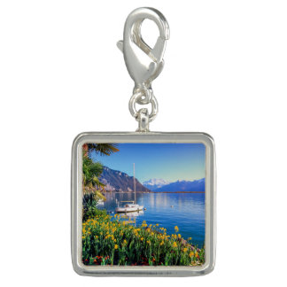 Geneva lake at Montreux, Vaud, Switzerland Charms