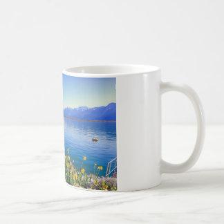 Geneva lake at Montreux, Vaud, Switzerland Coffee Mug