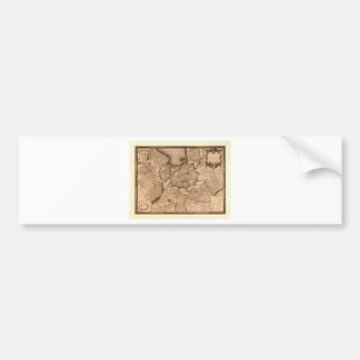 Geneva Switzerland 1773 Bumper Sticker