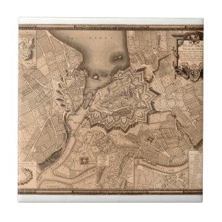 Geneva Switzerland 1773 Tile