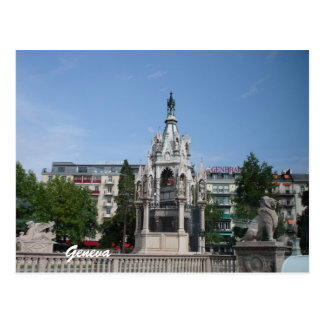 Geneva, Switzerland Postcard