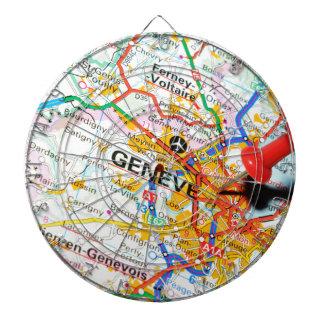 Geneve, Geneva, Switzerland Dartboard