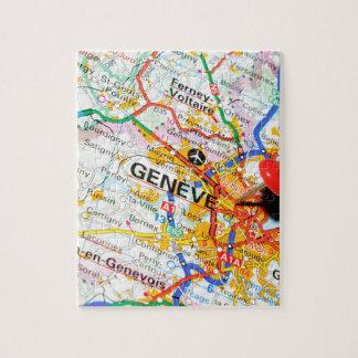 Geneve, Geneva, Switzerland Jigsaw Puzzle