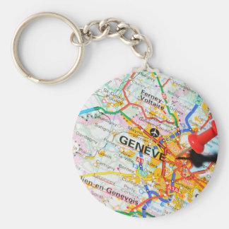 Geneve, Geneva, Switzerland Keychain