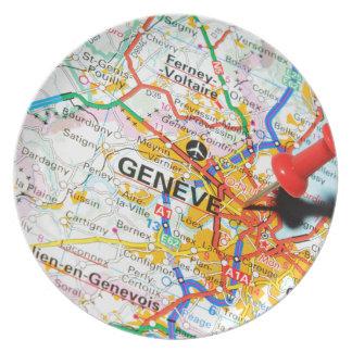 Geneve, Geneva, Switzerland Plate