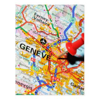 Geneve, Geneva, Switzerland Postcard