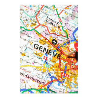 Geneve, Geneva, Switzerland Stationery